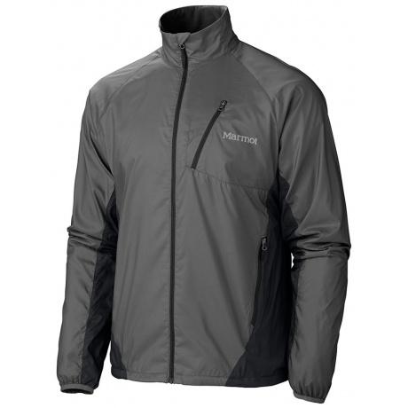 Ветровка Marmot Stride Jacket | Slate Grey/Black | Вид 1