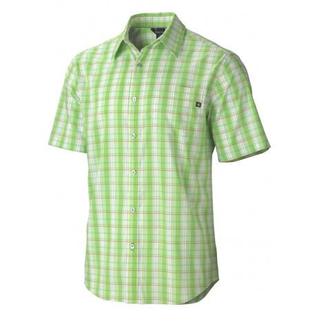 Рубашка Marmot Claremont Plaid SS | Green Envy | Вид 1