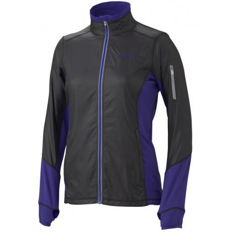 Куртка женская Marmot Wm's Fusion Jacket | Black/Valor Purple | Вид 1