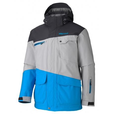 Куртка Marmot Space Walk Jacket | Black/Steel/Methyl Blue | Вид 1