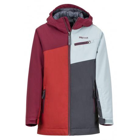 Куртка детская Marmot Boy's Thunder Jacket | Auburn/Madder Red | Вид 1