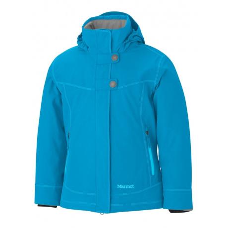 Куртка детская Marmot Girl's Portillo Jacket | Blue Jewel | Вид спереди
