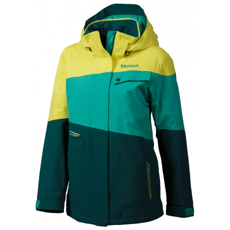 Куртка женская Marmot Wm'S Moonshot Jacket | Gator/Sunlight | Вид 1