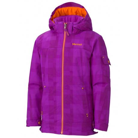 Куртка детская Marmot Girl'S Lexy Jacket   Bright Berry   Вид 1