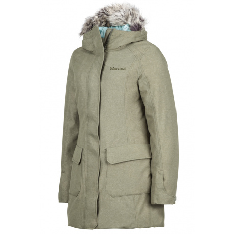 Куртка женская Marmot Wm's Georgina Featherless Jkt | Beetle Green | Вид 1