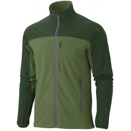 Куртка Marmot Tempo Jacket   Green Pepper/Midnight Green   Вид 1