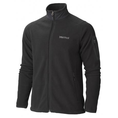 Куртка из флиса Marmot Reactor Jacket   Black   Вид 1