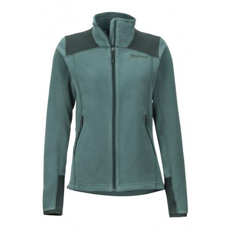 Куртка женская Marmot Wm's Flashpoint Jacket | Mallard Green/Dark Spruce | Вид спереди