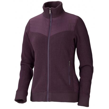 Куртка женская Marmot Wm'S Tech Sweater | Aubergine | Вид 1