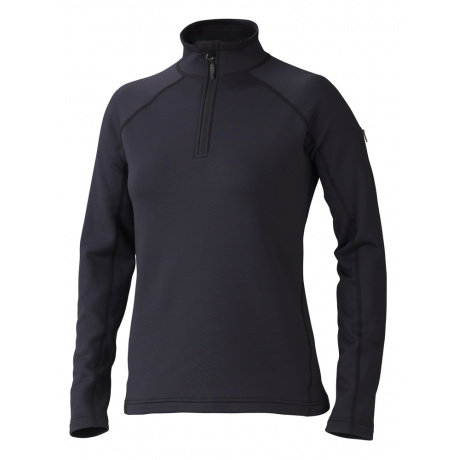 Пуловер женский Marmot Wm's Stretch Fleece 1/2 Zip | Black | Вид 1