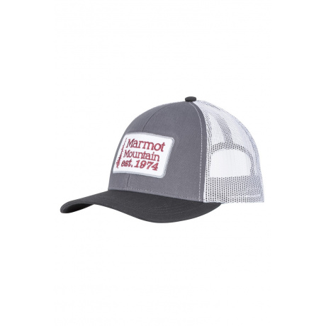 Кепка Marmot Retro Trucker Hat | Dark Steel/Black | Вид 1