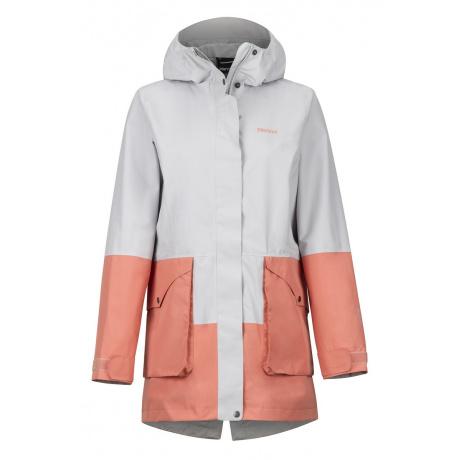 Куртка Marmot Wm's Wend Jacket | Platinum/Coral Pink | Вид 1