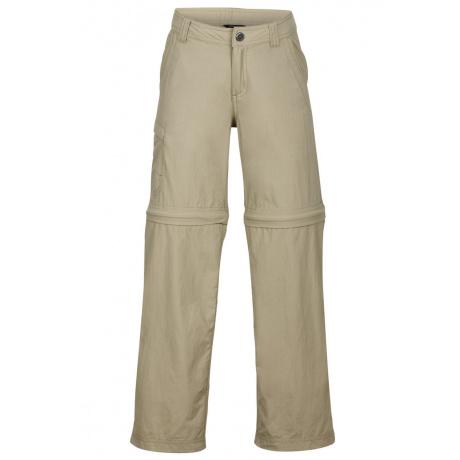 Брюки детские Marmot Boy's Cruz Convertible Pant | Desert Khaki | Вид спереди