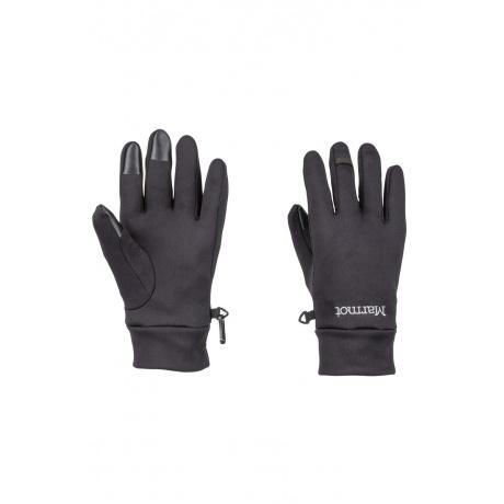 Перчатки Marmot Power Stretch Connect Glove   Black   Вид 1