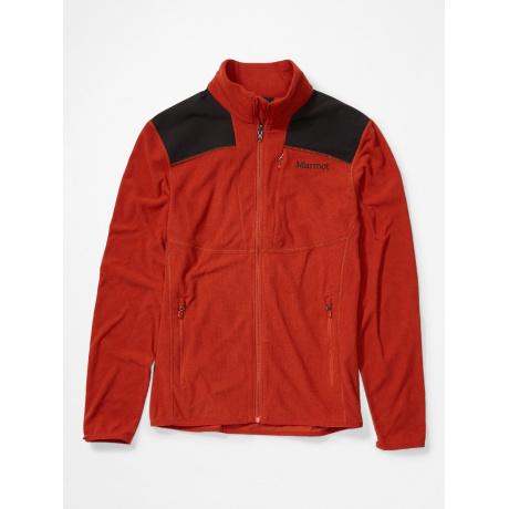 Куртка из флиса Marmot Reactor Jacket | Picante/Black | Вид 1
