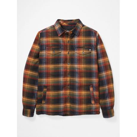 Рубашка мужская Marmot Ridgefield LS | True Black | Вид 1