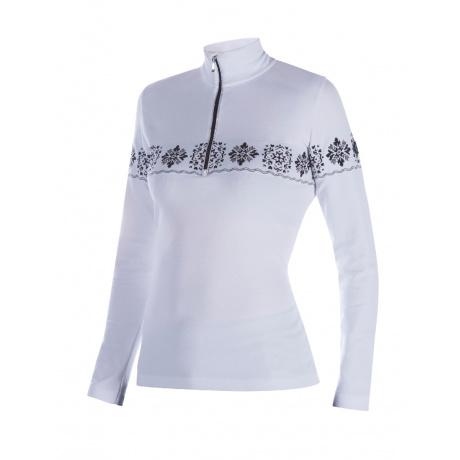 Пуловер женский Newland THELMA | White/Black | Вид спереди