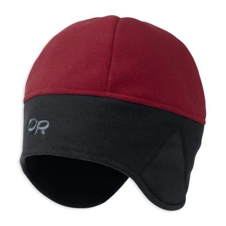 Шапка Outdoor Research Windwarrior Hat | Retro Red/Black | Вид 1