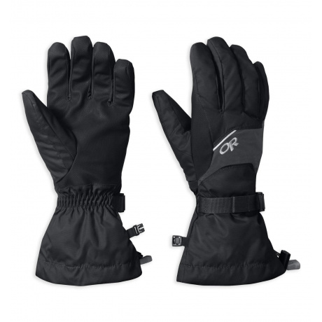 Перчатки Outdoor Research Adrenaline Gloves | Black | Вид 1