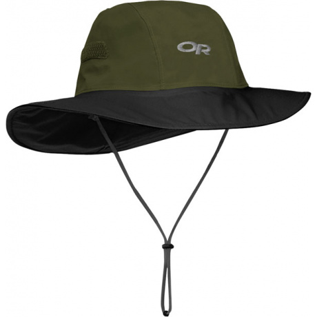 Сомбреро Outdoor Research Seattle Sombrero | Forest/Black | Вид 1