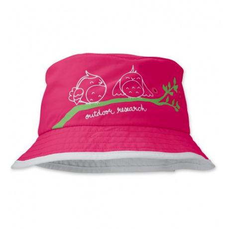 Панама детская Outdoor Research Solstice Bucket для девочек | Azalea/White | Вид 1