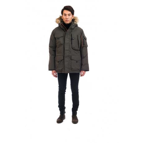 Куртка OSC KANTI | Steel Grey | Вид спереди