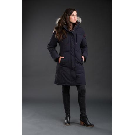 Куртка женская OSC NISTO | Cold Lake Blue | Вид спереди