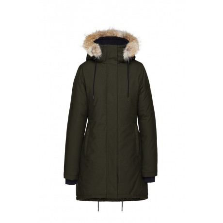 Куртка женская Quartz GENIA | Military Green | Вид 1