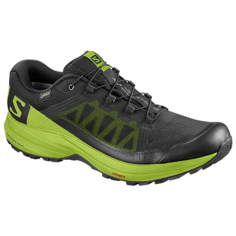 Кроссовки Salomon XA ELEVATE GTX | Black/Lime Green | Вид 1