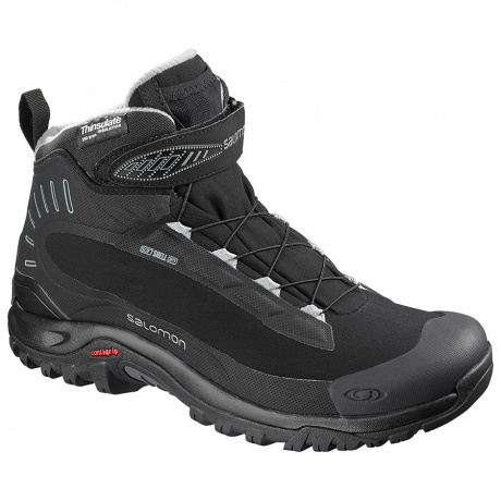 Ботинки Salomon DEEMAX 3 TS WP | Black/Black/Alloy | Вид 1