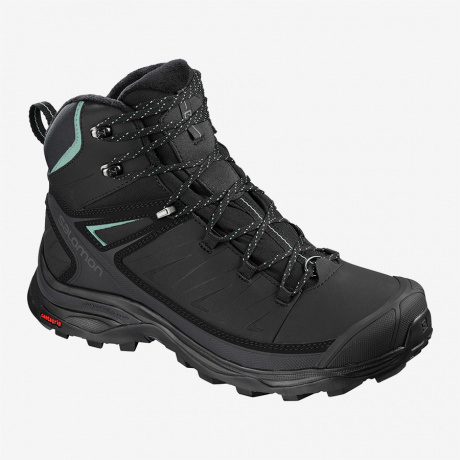 Ботинки женские Salomon X ULTRA MID WINTER CS WP W | Black/Phantom | Вид 1
