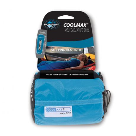 Вкладыш Sea To Summit COOLMAX LINER | Blue Sack/Blue Liner | Вид 1