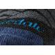 Носки мужские Bridgedale Hike Lightweight Merino Performance 3/4 Crew Pattern | Dark Grey/Blue | Вид 4