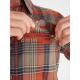 Рубашка мужская Exofficio M Stonefly Midwt Flannel LS | Rust | Вид 4