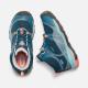 Подростковые ботинки KEEN Terradora Mid WP Y | Aqua Sea/Coral | Вид 3