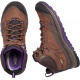 Ботинки женские KEEN Terradora Leather Mid WP W | Scotch/Mulch | Вид 3