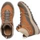 Ботинки женские KEEN Terradora Leather Mid WP W | Timber/Cornst | Вид 3