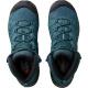 Ботинки женские Salomon X ULTRA MID 3 AERO W | Mallard Blue/Reflecting Pond/Tropical Green | Вид 3