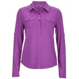 Рубашка женская Marmot Wm's Allie LS   Vibrant Fuchsia   Вид 1
