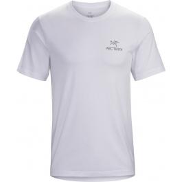 Футболка мужская Arcteryx Emblem t-shirt ss men's   White   Вид 1