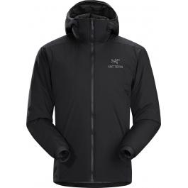 Куртка мужская Arcteryx Atom lt hoody men's | Black | Вид 1