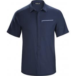 Рубашка мужская Arcteryx Skyline ss shirt men's | Cobalt Moon | Вид 1