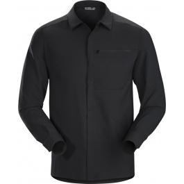 Рубашка мужская Arcteryx Skyline ls shirt men's | Black | Вид 1