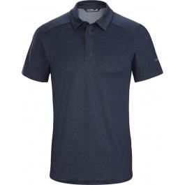 Рубашка поло мужская муж Arcteryx Eris polo men's | Cobalt Moon | Вид 1