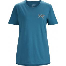 Футболка женская Arcteryx Bird emblem t-shirt ss women's | Reflection | Вид 1