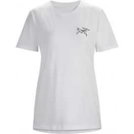 Футболка женская Arcteryx Bird emblem t-shirt ss women's | White | Вид 1