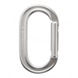 Карабин Black Diamond Oval Keylock Carabiner | Polished | Вид 1