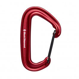 Карабин Black Diamond Miniwire Carabiner   Red   Вид 1