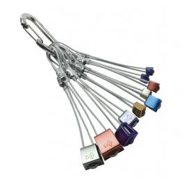 Стоппер Black Diamond Stopper Set #4 - 13 w/Oval Wiregate | | Вид 1