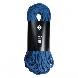 Веревка Black Diamond 10.2 Rope - 60M - Wall | Tri Blue | Вид 1